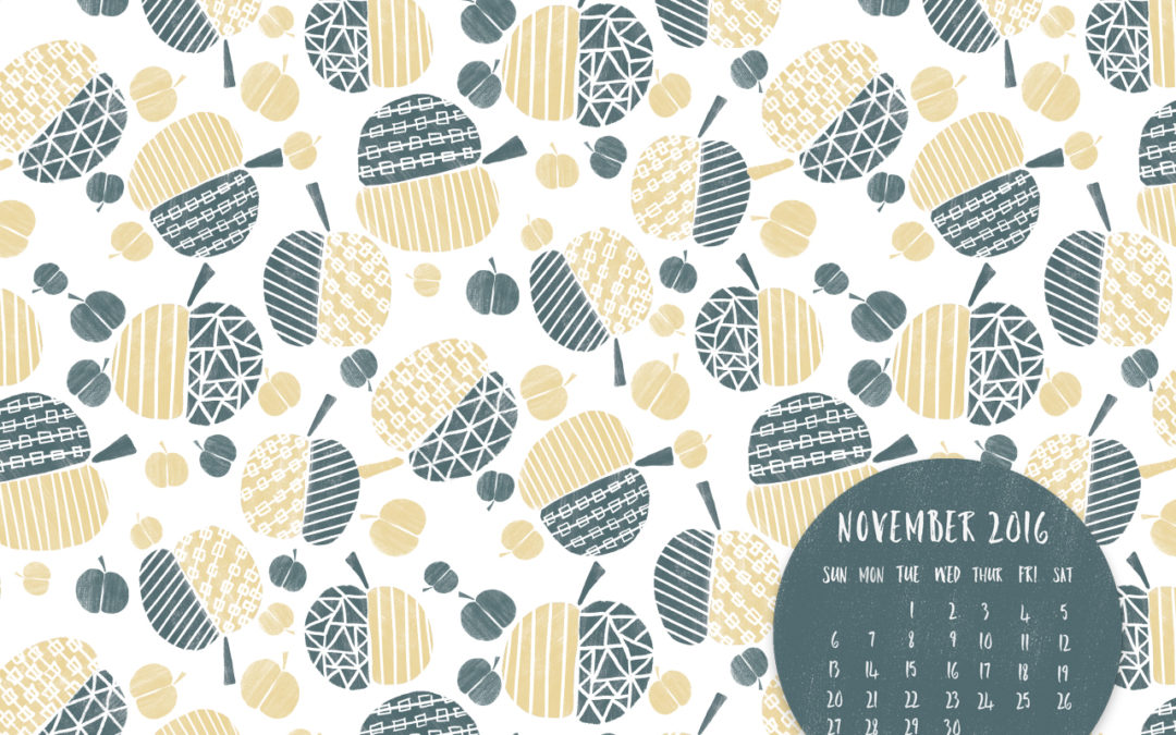 NOVEMBER 2016 FREE DESKTOP CALENDAR DOWNLOAD
