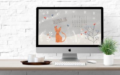 Free December Desktop Calendar Download