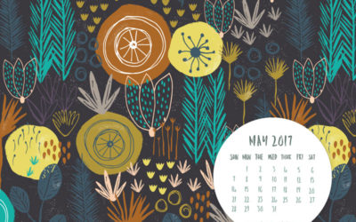 MAY 2017 DESKTOP CALENDAR WALLPAPER