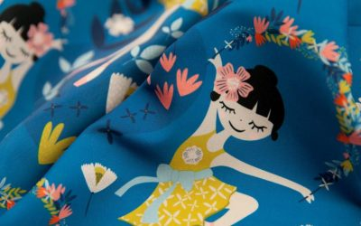2nd Place – Spoonflower Centre Stage