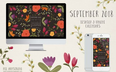 SEPTEMBER 2018 FREE DESKTOP CALENDAR DOWNLOAD