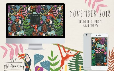 NOVEMBER 2018 FREE DESKTOP CALENDAR DOWNLOAD