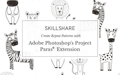 CREATE REPEAT PATTERNS WITH ADOBE PHOTOSHOP'S PROJECT PARAS® EXTENSION