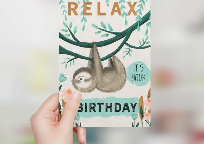 Relax it's your birthday